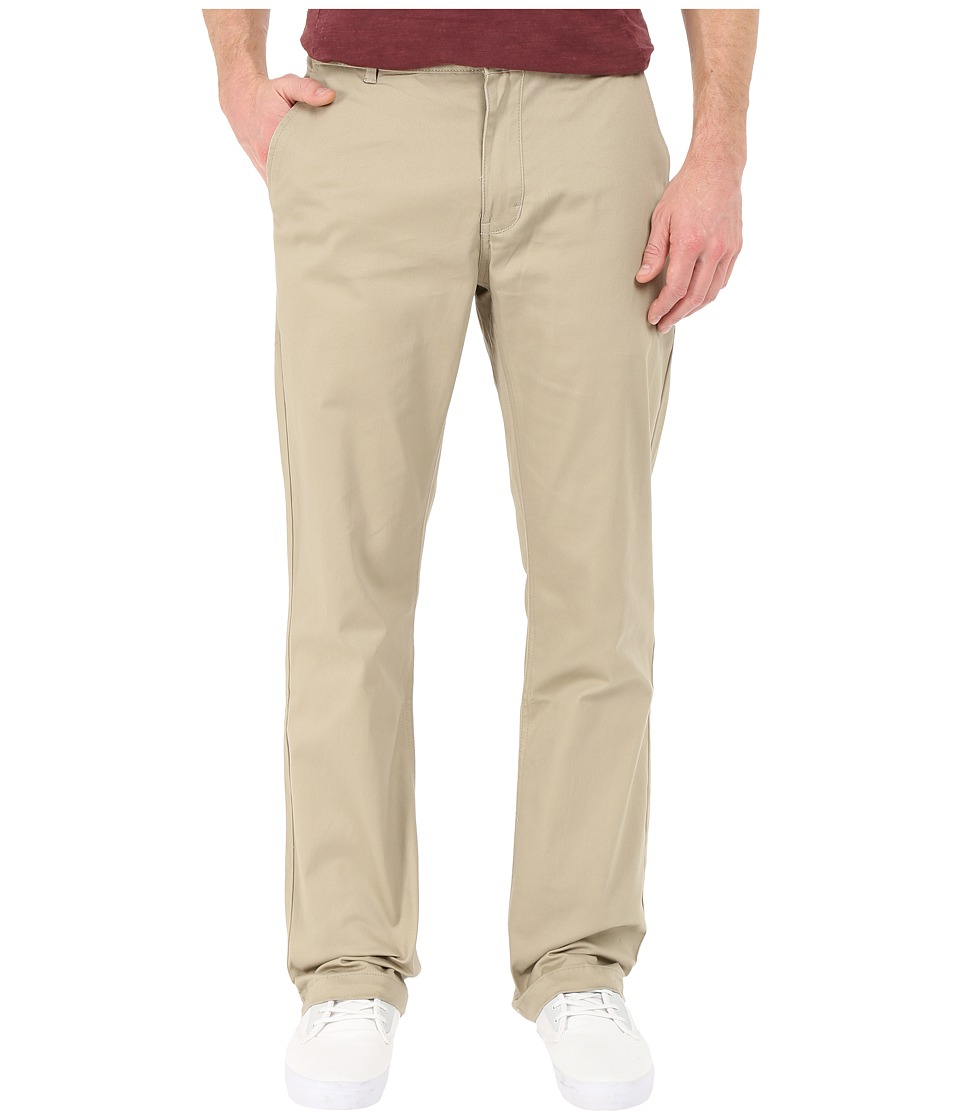 Image of Altamont - Davis Straight Chino (Khaki) Men's Casual Pants