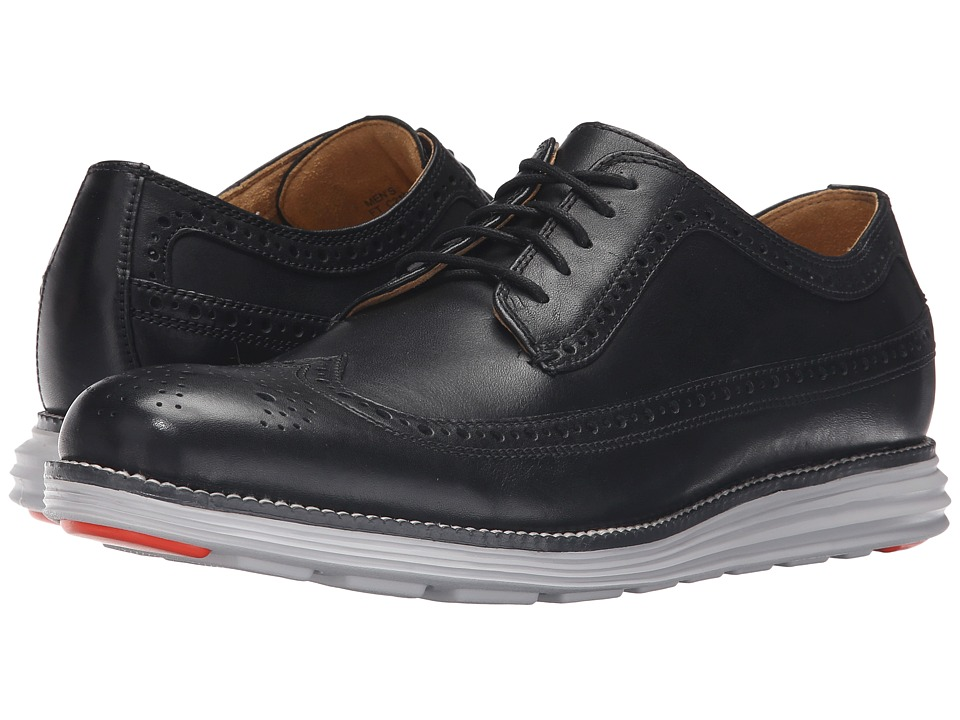 Cole Haan Original Grand Plain Oxford (Black/Vapor Blue) Men