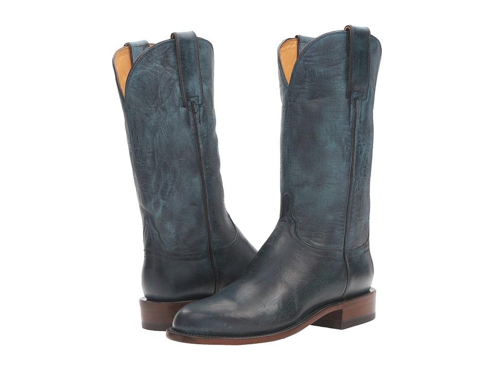 Lucchese - Blair (Ocean Blue) Cowboy Boots