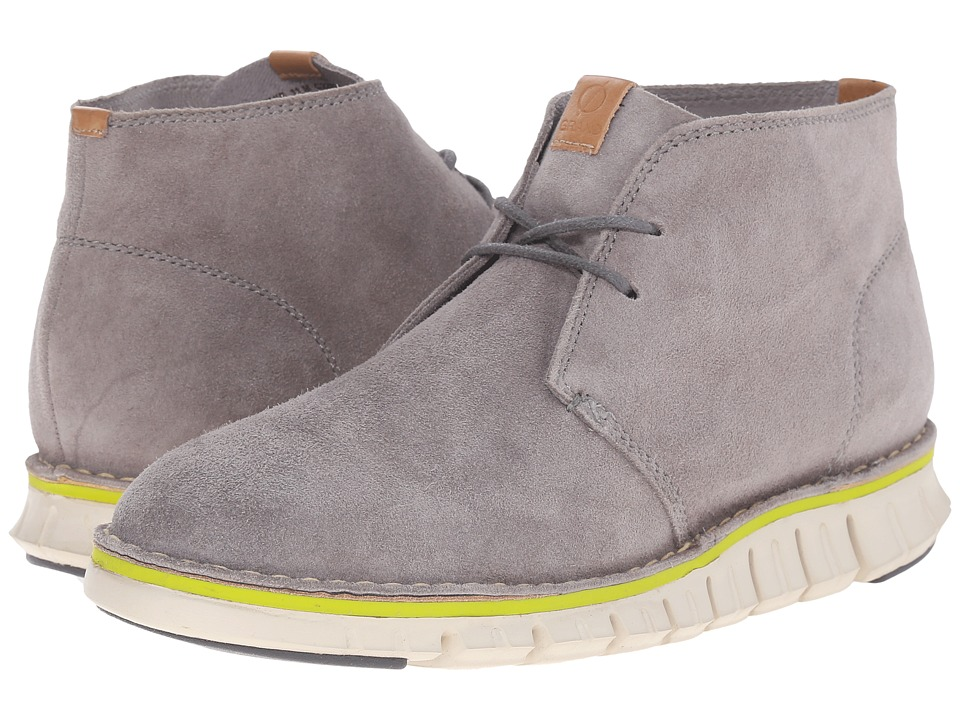 Cole Haan ZeroGrand Stitch Out Chukka (Cloudburst Suede) Men