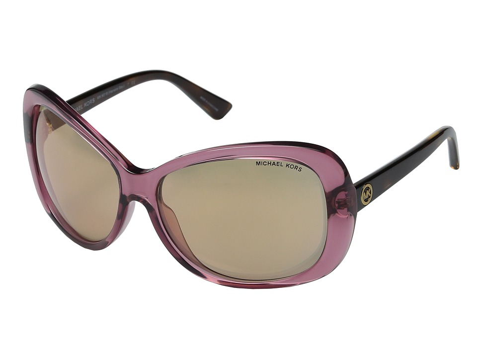 Michael Kors - Hanalei Bay (Rose/Transparent Tortoise) Fashion Sunglasses