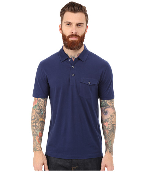 Original Penguin - Smack Pocket Polo (Medieval Blue) Men