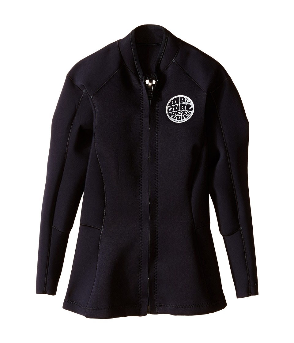 Rip Curl Dawn Patrol Long Sleeve Jacket (Black) Women
