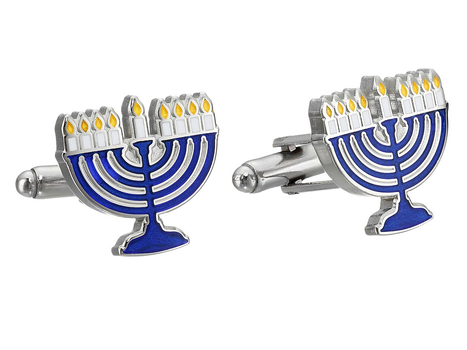 Cufflinks Inc. - Menorah Cufflinks (Blue) Cuff Links
