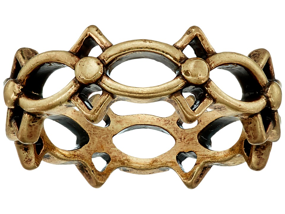 Lucky Brand - Openwork Ring (Gold) Ring