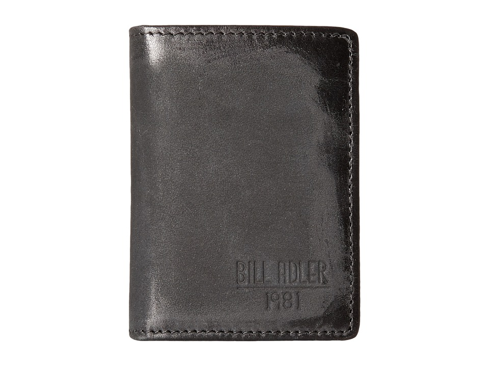 Bill Adler 1981 - Nubuck Credit Card Folder (Black) Credit card Wallet