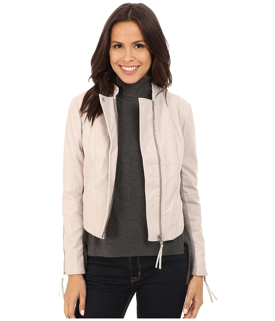 Free People - Clean Minimal Jacket (Bone) Women