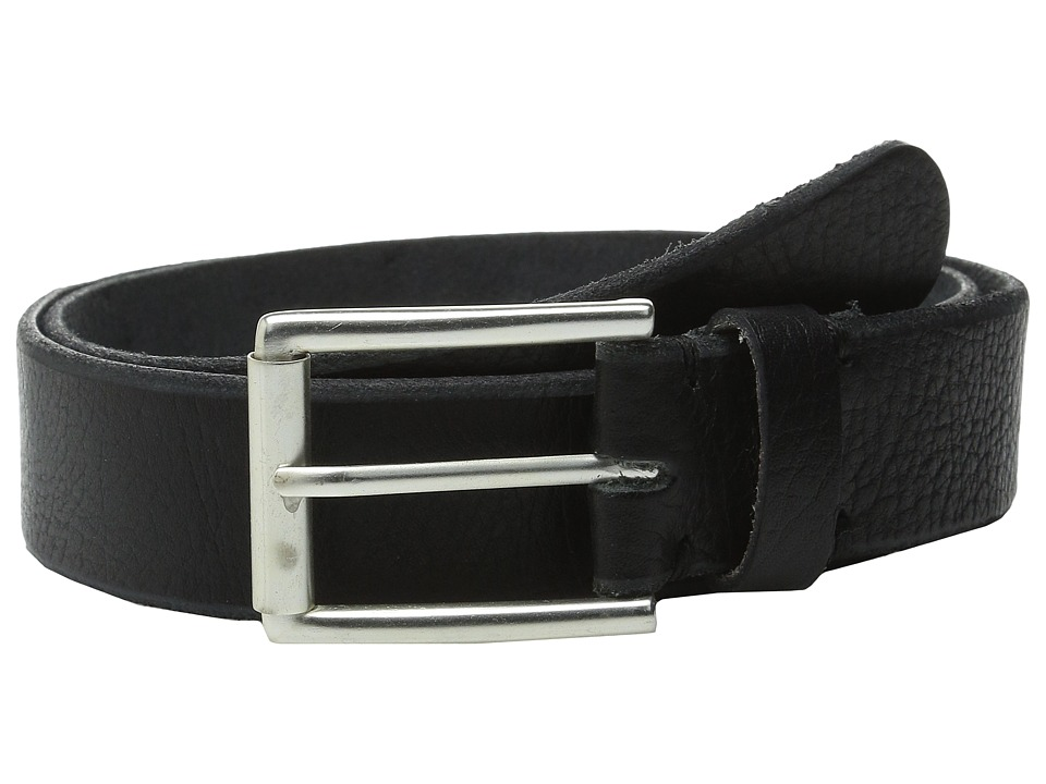 Will Leather Goods - 35mm Skiver (Black) Men's Belts
