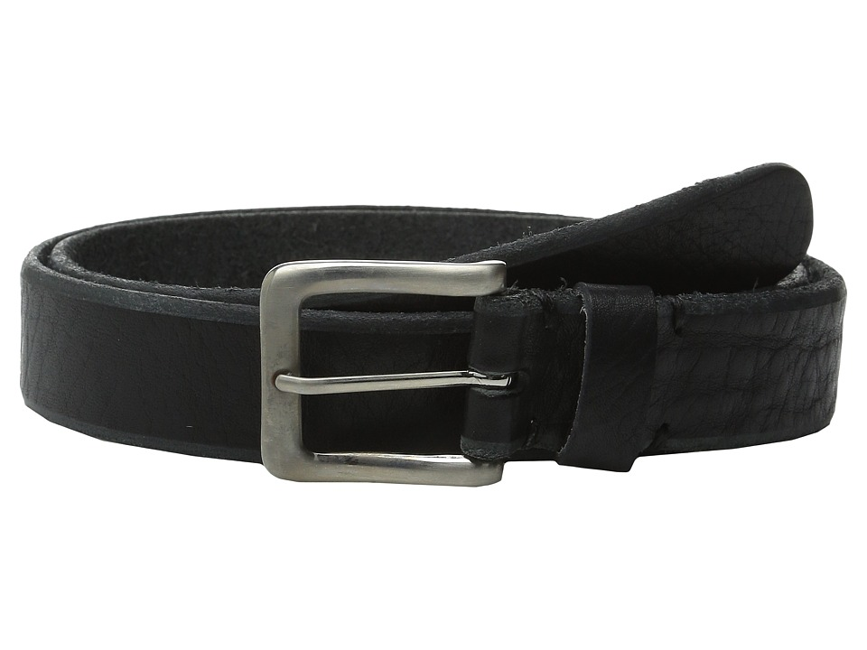 Will Leather Goods - Skinny Skiver (Black) Men's Belts