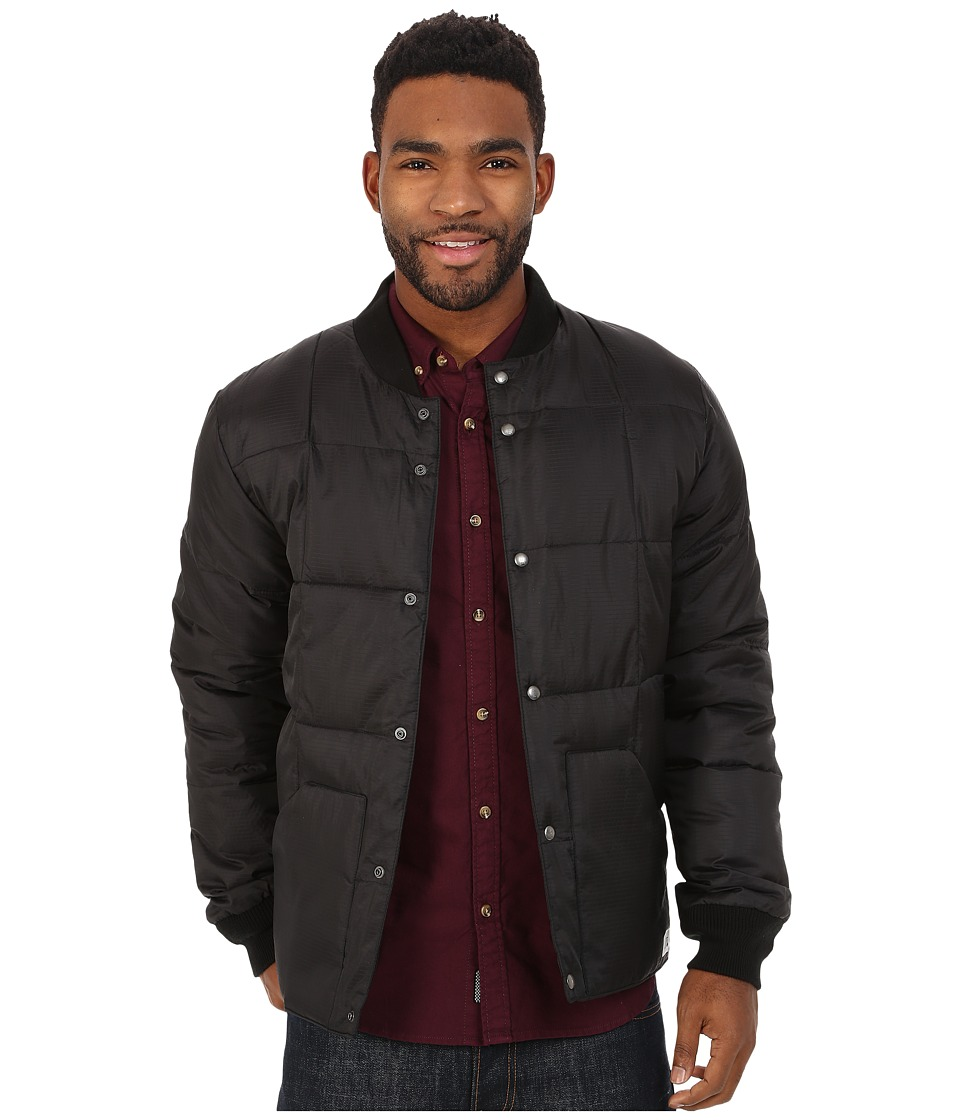 Quiksilver - Bomber Jackets (Anthracite) Men's Coat