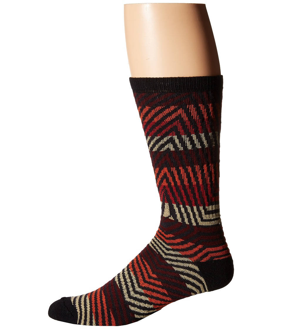 Volcom - Furrow (Cherry Wood) Men's Crew Cut Socks Shoes