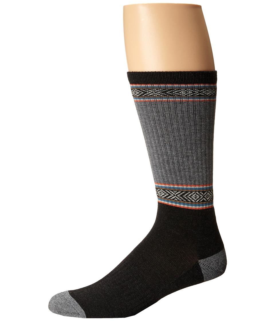 Volcom - Furrow (Dark Grey) Men's Crew Cut Socks Shoes