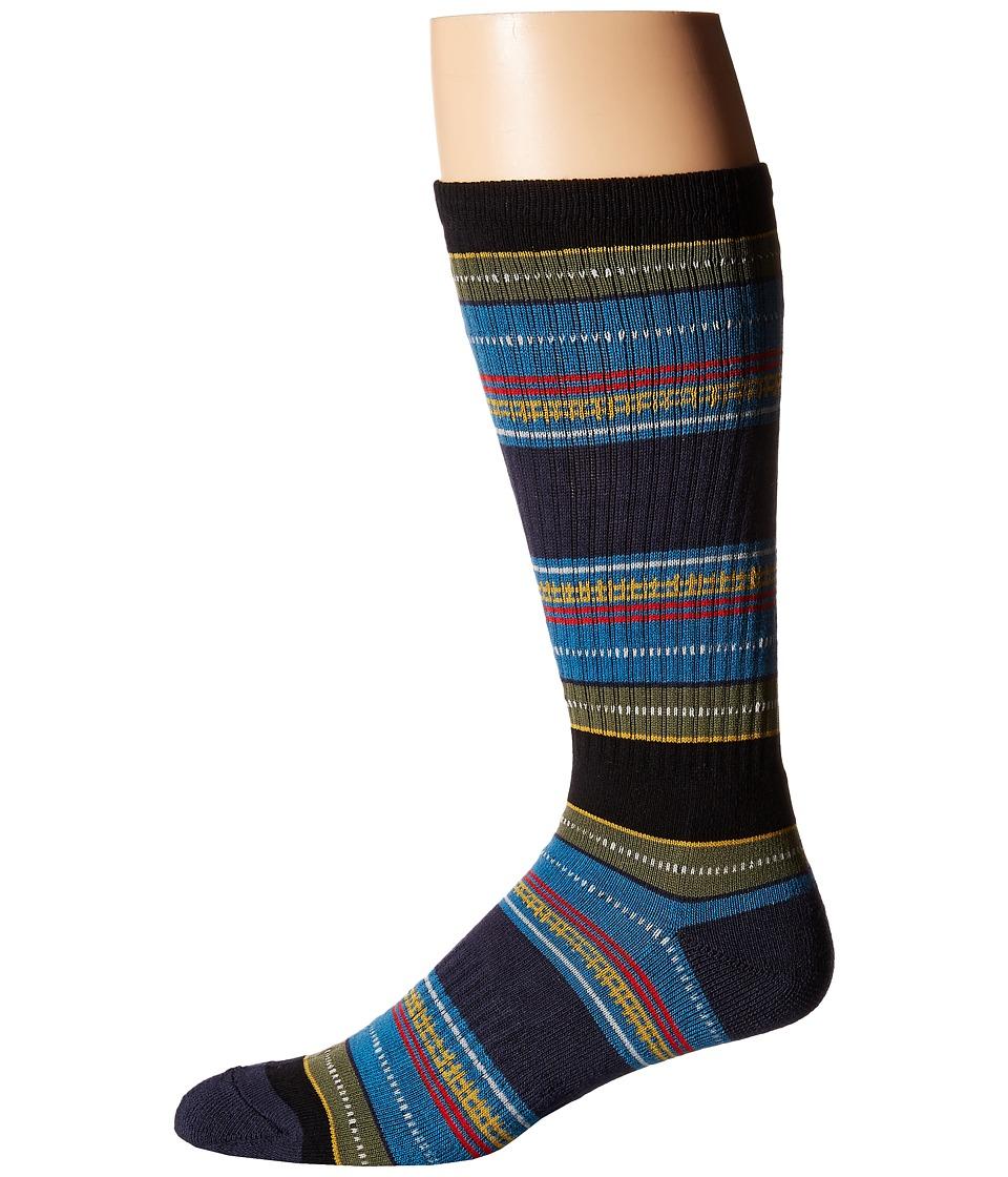 Volcom - Furrow (Stormy Blue) Men's Crew Cut Socks Shoes