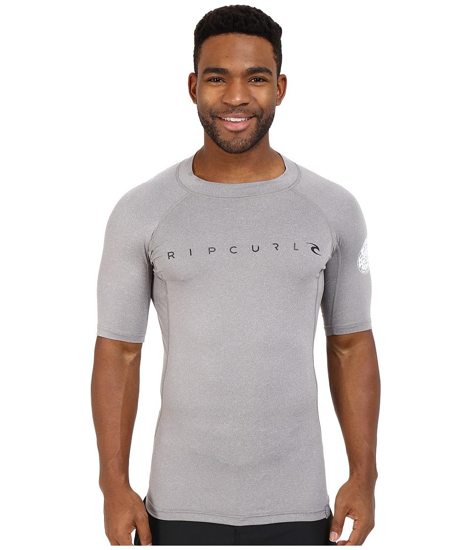 Rip Curl - Dawn Patrol UV Tee Short Sleeve (Grey) Men's Swimwear