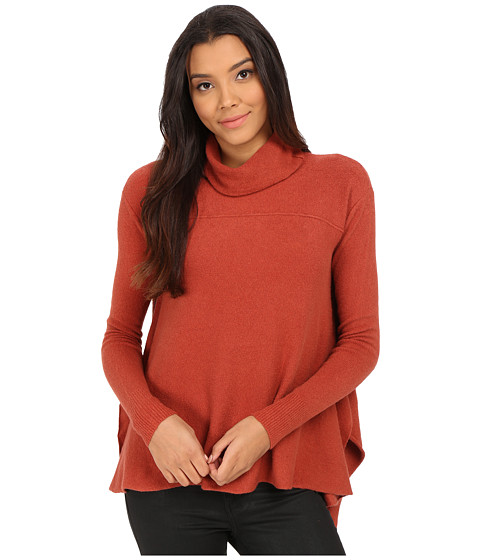 Free People - Drape Sweater Top (Sunset) Women's Sweater