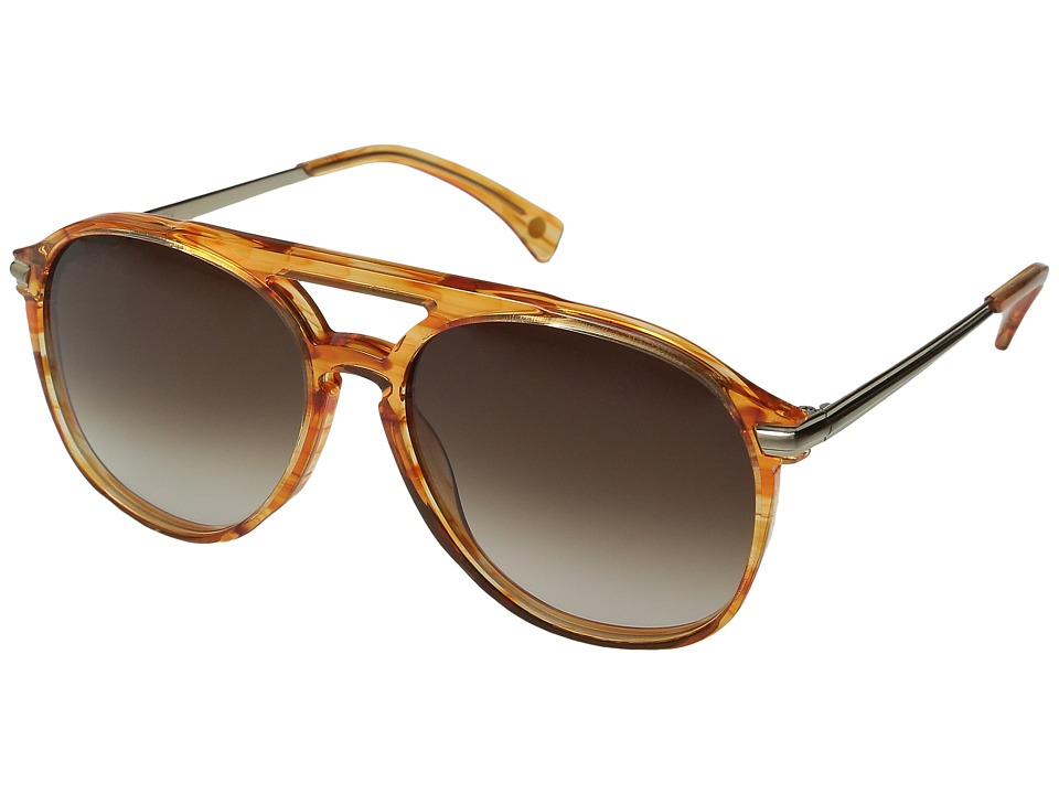 Wildfox - Baroness (Apricot/Brown Gradient) Fashion Sunglasses
