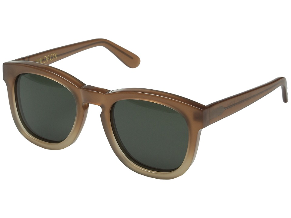 Wildfox - Classic Fox (Desert/G15 Sun) Fashion Sunglasses