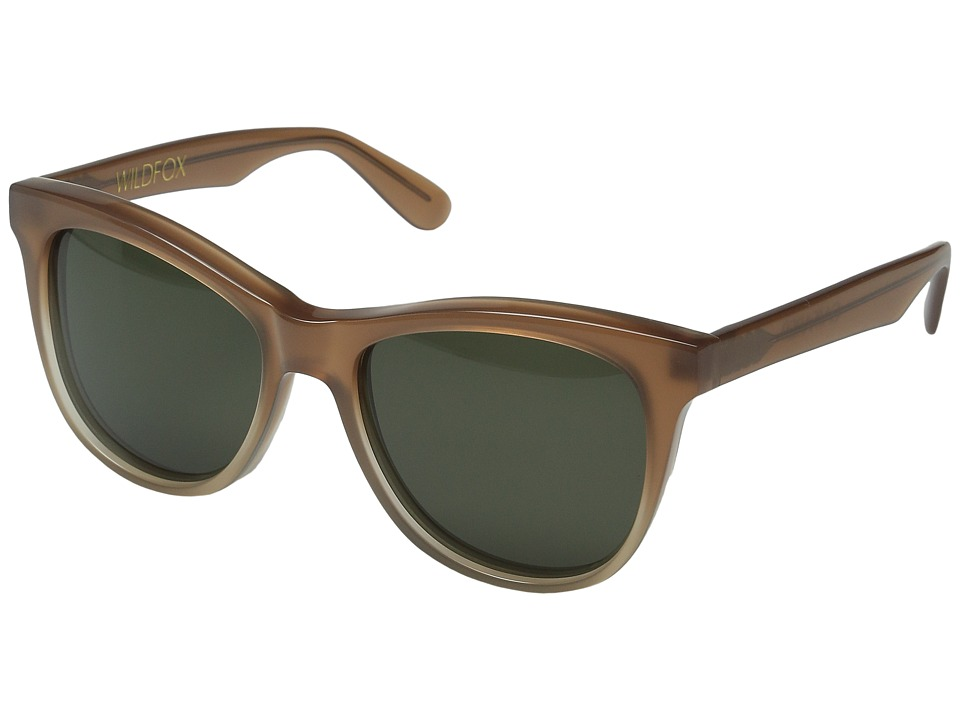 Wildfox - CatFarer (Desert/G15 Sun) Fashion Sunglasses
