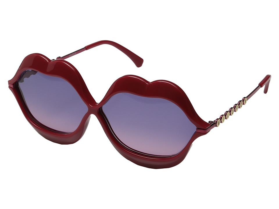 Wildfox - Lip Service (Red/Purple Gradient) Fashion Sunglasses