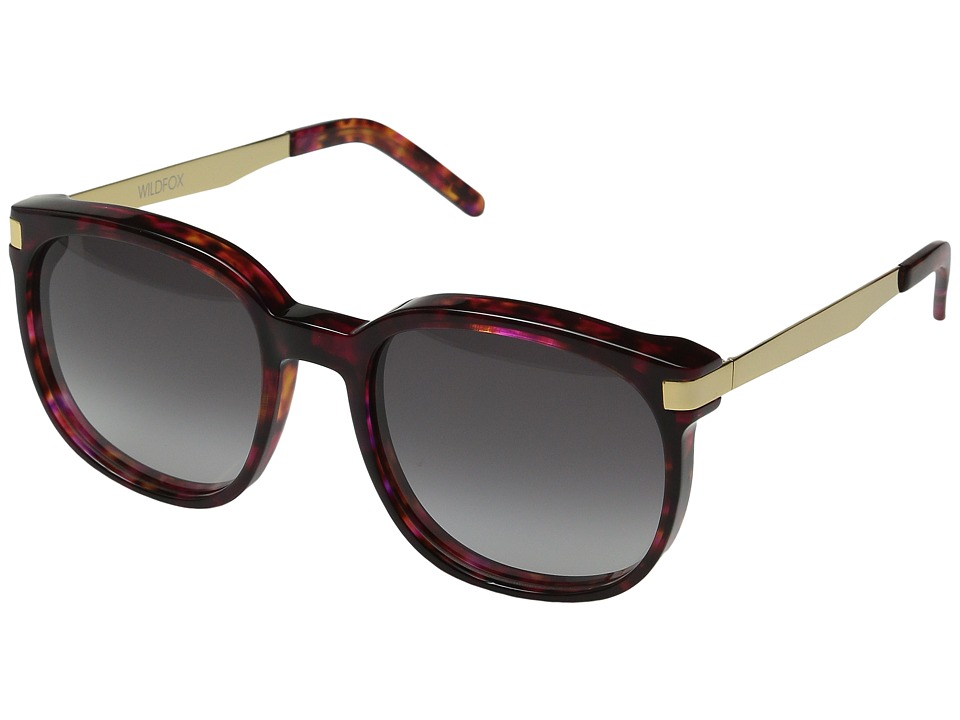 Wildfox - Geena (Cider/Gold/Grey Gradient) Fashion Sunglasses