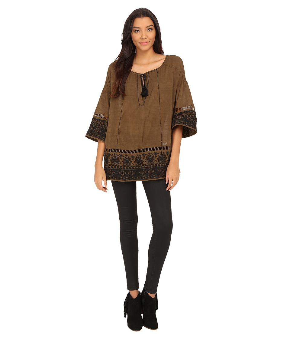 Free People - Counting Stars Tunic (Martini Combo) Women's T Shirt