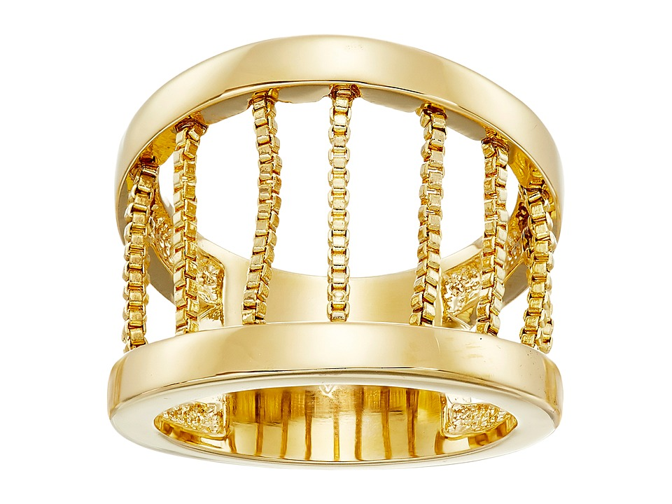 Vince Camuto - Chain Drape Band Ring (Gold) Ring