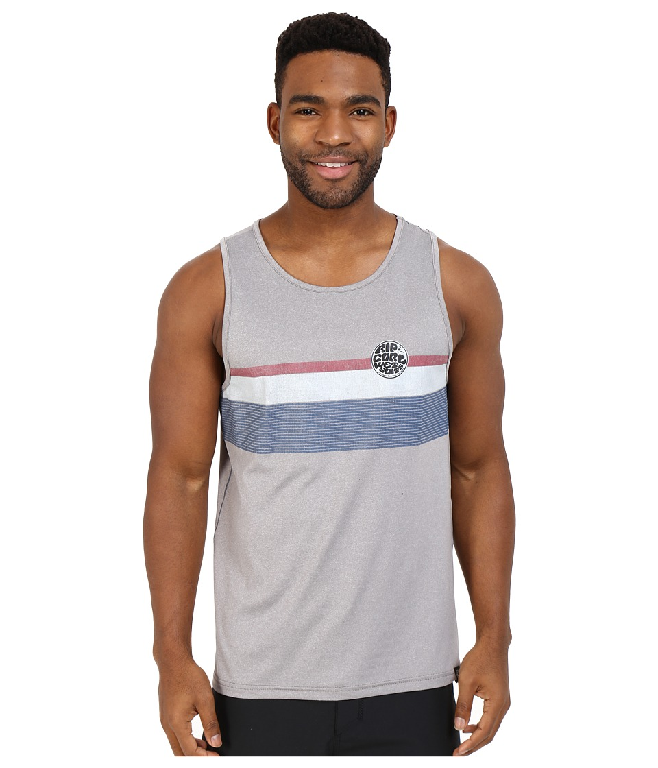 Rip Curl - Surf Craft Tank Top (Grey) Men's Swimwear