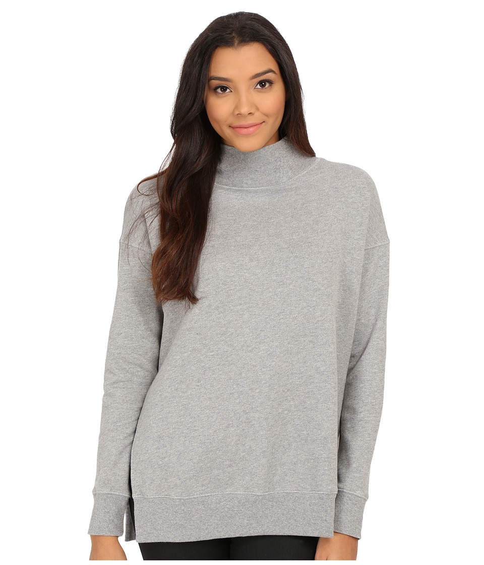 Free People - Jolene Pullover (Grey Heather) Women's Sweater