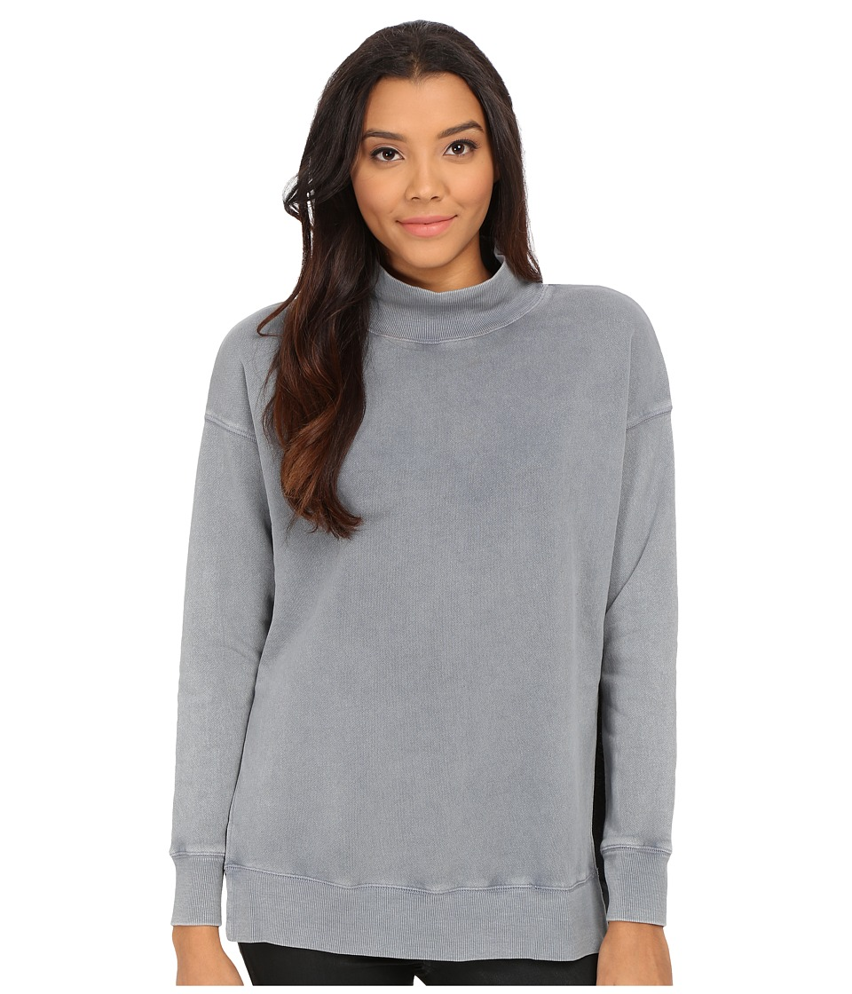 Free People - Jolene Pullover (Sea Blue) Women's Sweater