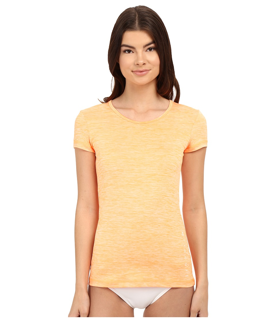Rip Curl - Search Tee Short Sleeve (Orange) Women's Swimwear