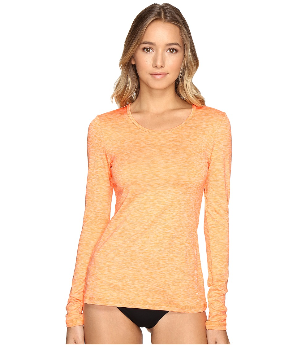 Rip Curl Search Tee Long Sleeve (Orange) Women