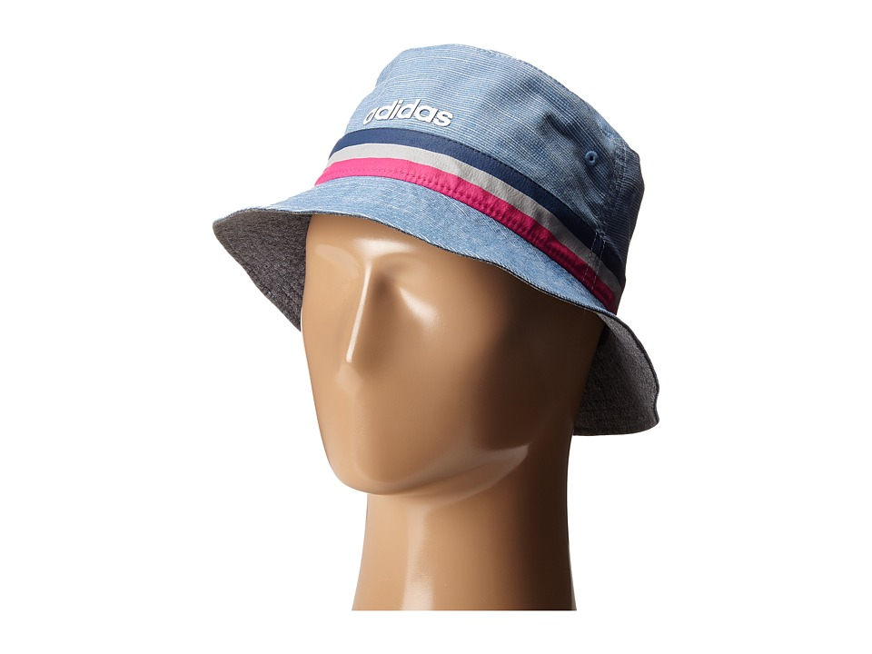 adidas Golf - UV Bucket Hat (Shock Blue) Caps