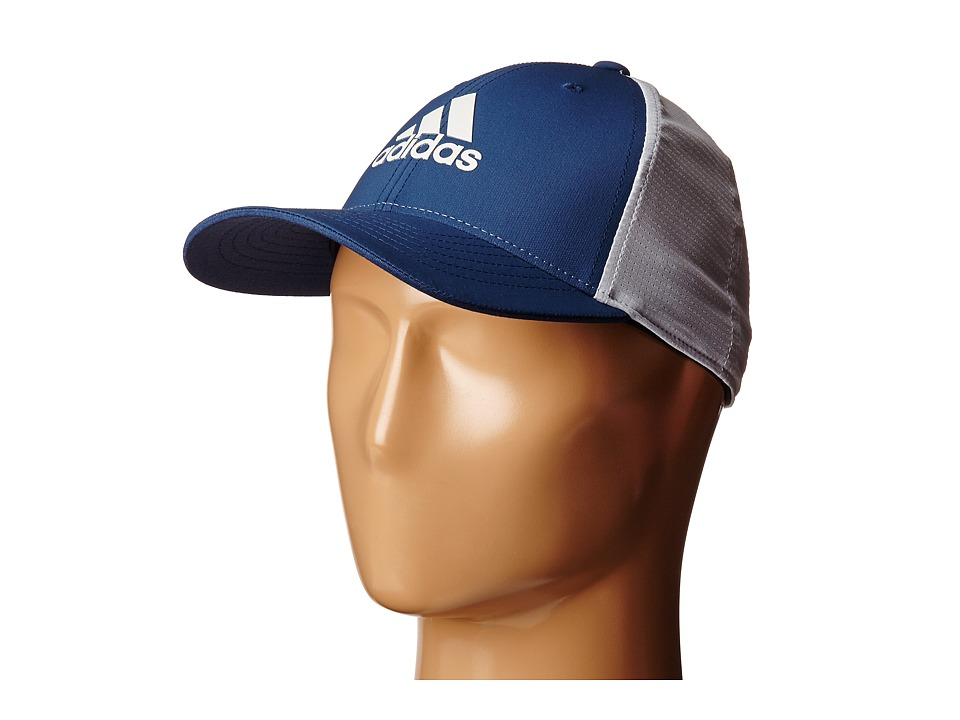 adidas Golf - Lightweight CLIMACOOL Flexfit Hat (Mineral Blue/Clear Grey) Caps