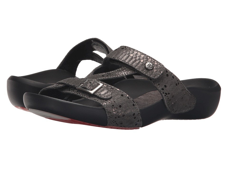 Wolky - O'Connor (Anthracite) Women's Sandals
