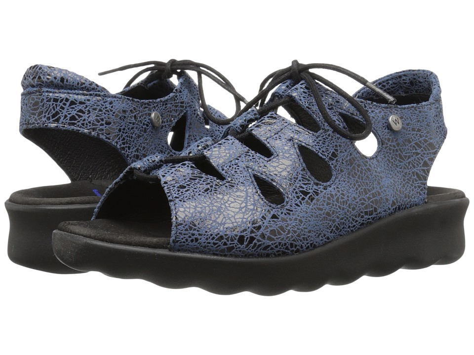 Wolky - Natu (Denim) Women's Sandals
