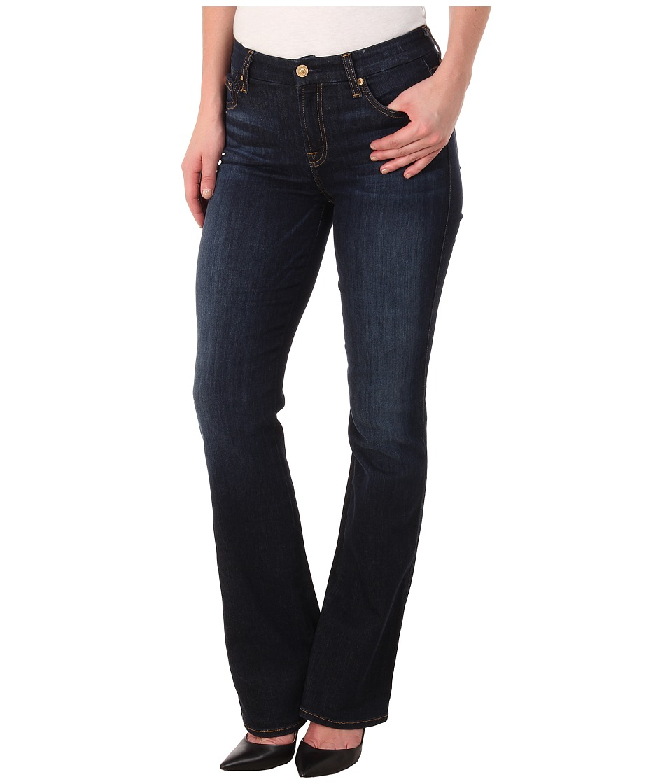 7 For All Mankind - Kimmie Bootcut Slim Illusion in Tried and True (Tried and True) Women