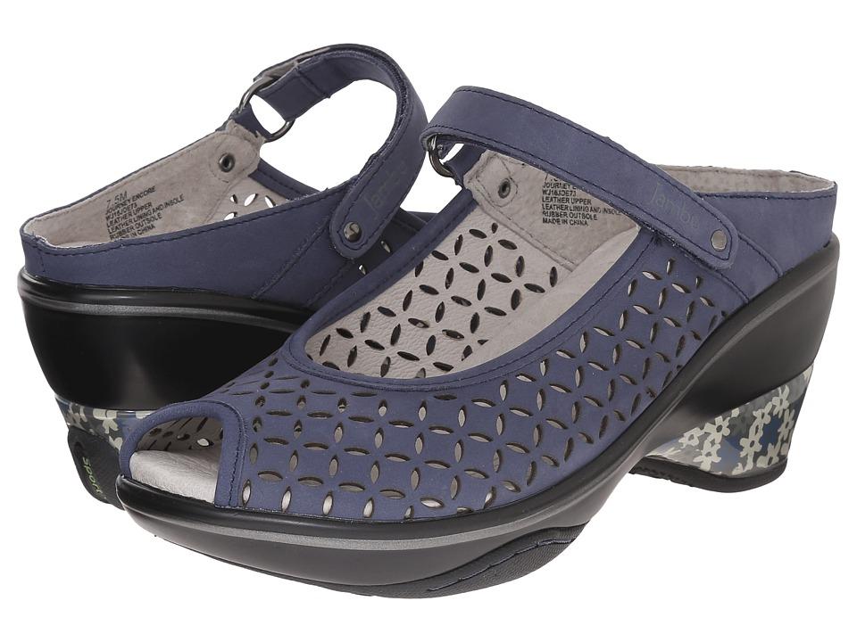 Jambu - Journey Encore (Navy) Women's Maryjane Shoes