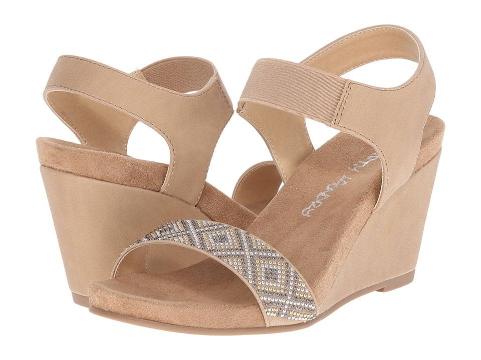 Dirty Laundry - DL Beauty Mark (Nude) Women's Wedge Shoes