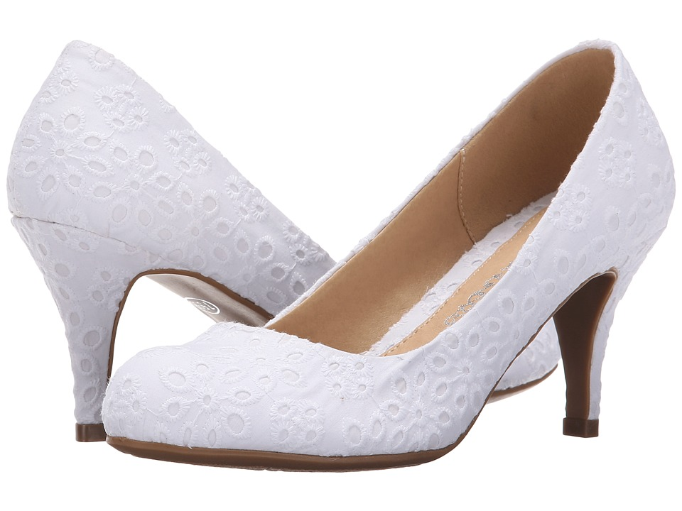 Dirty Laundry - DL No One Else (White) Women's 1-2 inch heel Shoes