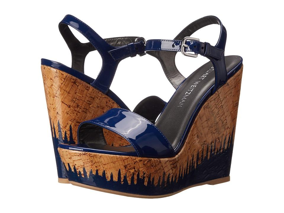Stuart Weitzman - Singlesky (Cadet Aniline) Women's Shoes