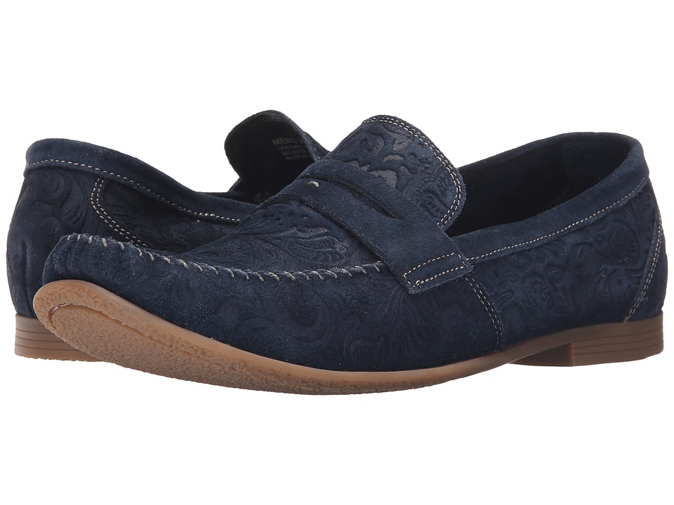 Stacy Adams Florian (Navy Suede) Men
