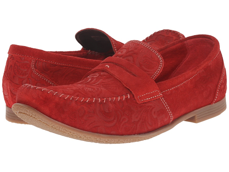 Stacy Adams Florian (Red Suede) Men