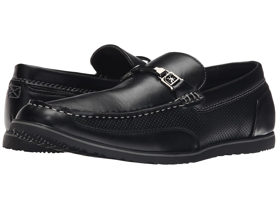 Stacy Adams - Chaz (Black) Men's Slip on Shoes