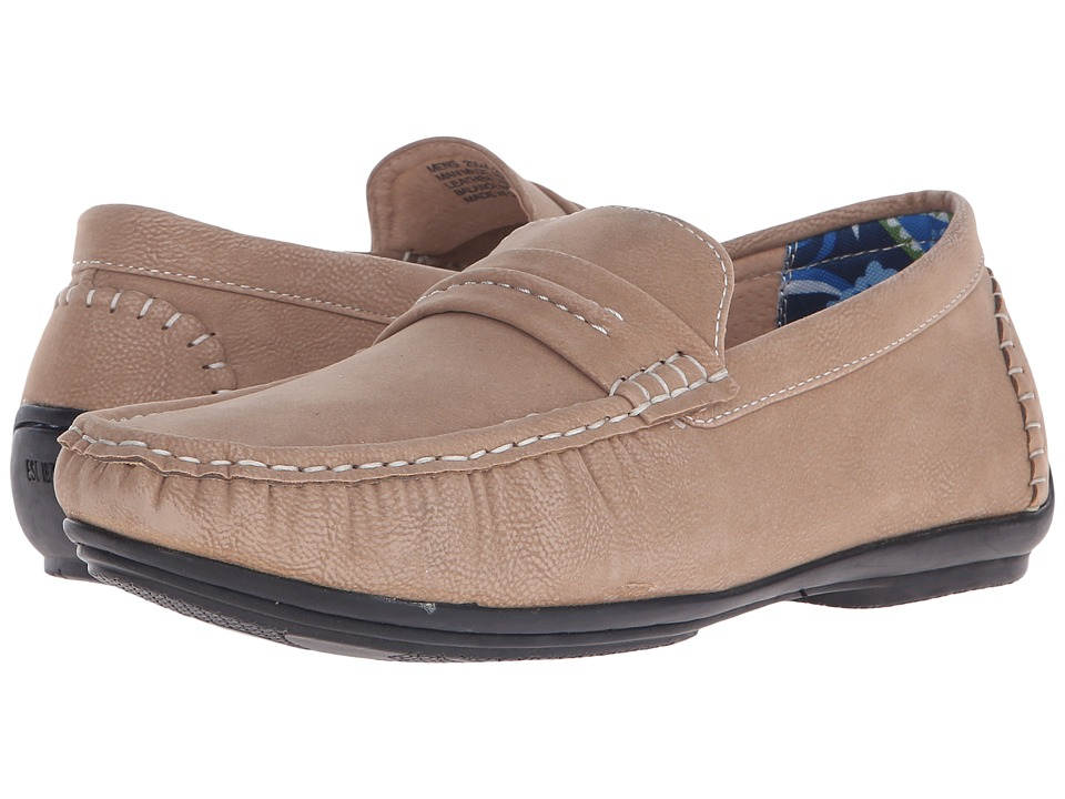 Stacy Adams - Park (Taupe) Men's Slip on Shoes
