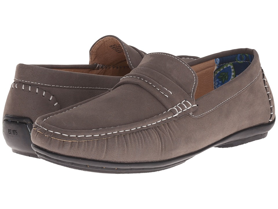 Stacy Adams - Park (Gray) Men's Slip on Shoes