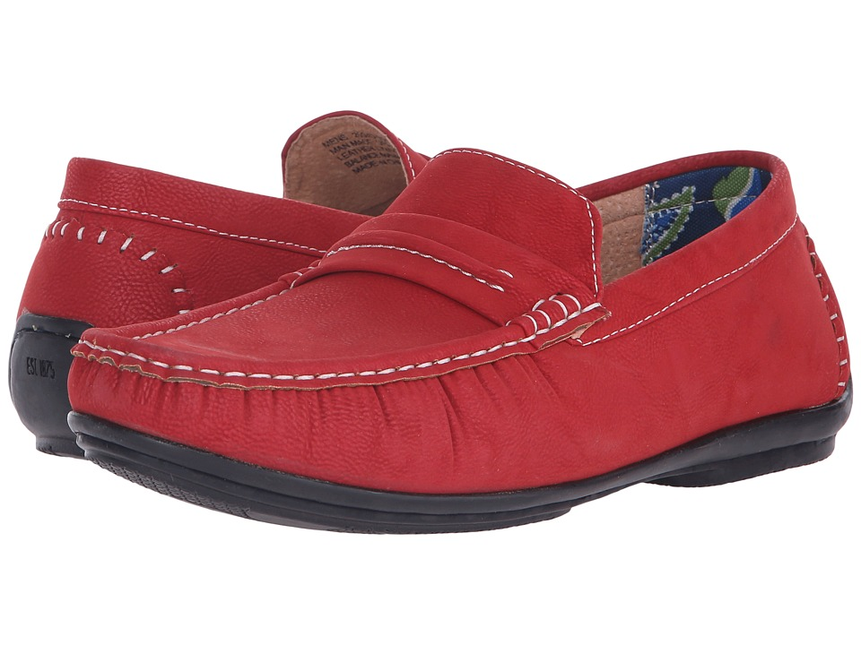 Stacy Adams - Park (Red) Men's Slip on Shoes