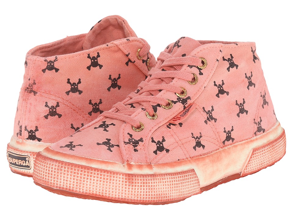 Superga Kids - 2754 Fantasycotjdyed (Infant/Toddler/Little Kid/Big Kid) (Pirates Orange) Kid's Shoes
