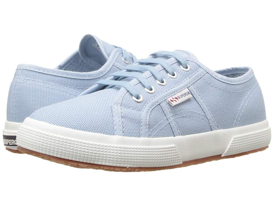 Superga Kids - 2750 JCOT Classic (Infant/Toddler/Little Kid/Big Kid) (Light Marine) Kids Shoes