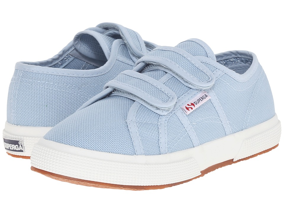 Superga Kids - 2750 JVEL CLASSIC (Infant/Toddler/Little Kid/Big Kid) (Light Marine) Girl