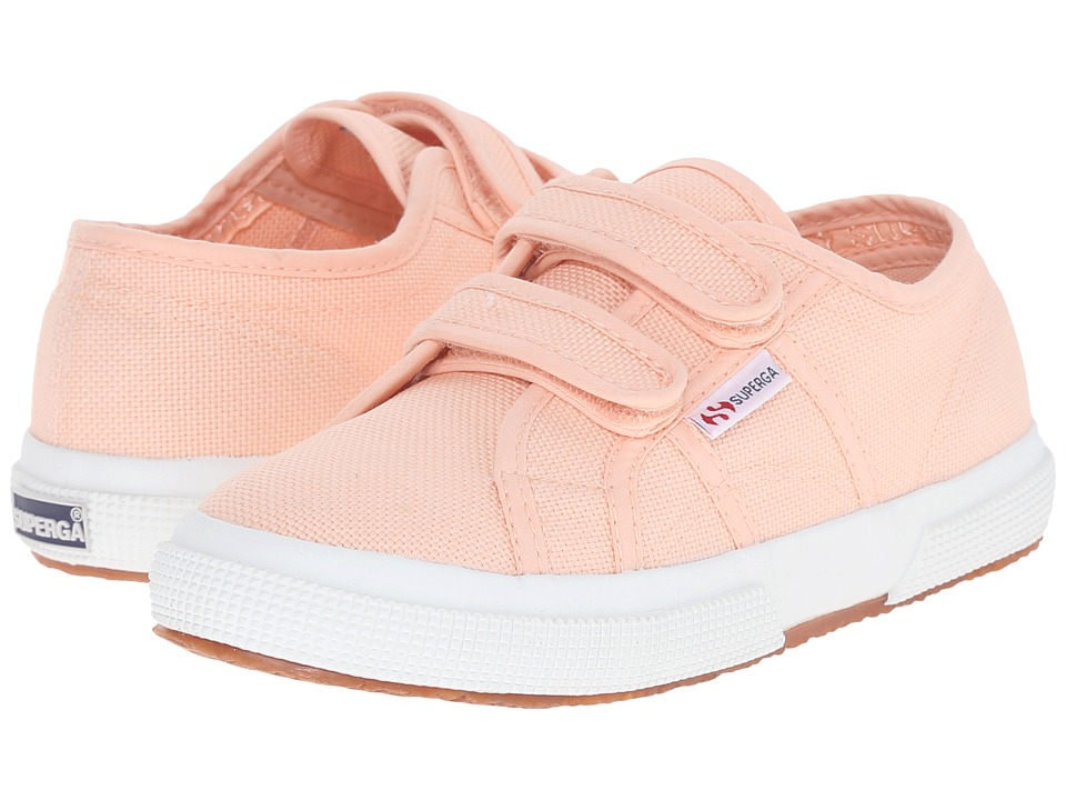 Superga Kids - 2750 JCOT Classic (Infant/Toddler/Little Kid/Big Kid) (Pink Peach) Girls Shoes